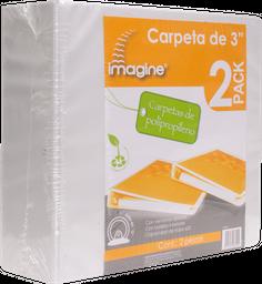"Carpeta Blanca 3"" 2 U Imagine"