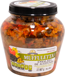 Ensalada de Aceitunas Muffuletta 907 g