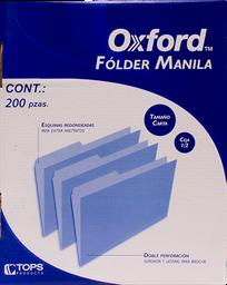 Folder Tamaño Carta 200 U Oxford
