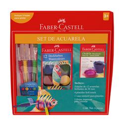 Super Set De Acuarelas 3 U Faber-Castell