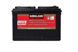 Bateria Para Auto 42-500 Codigo 3 Kirkland Signature
