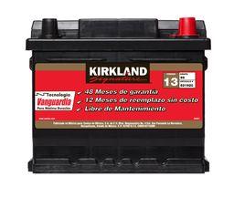 Bateria Para Auto 99-65 Codigo 13 Kirkland Signature