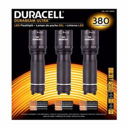 3Pk Linternas 380 Lumenes Duracell