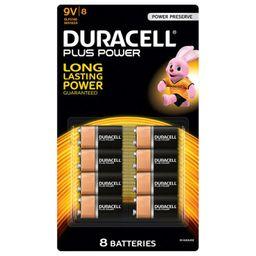 Pila Duracell 9V 8 U