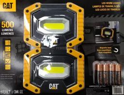 Led Luces De Trabajo 500 Lumens  2 Pzs Cat