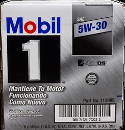 Aceite Sint Tico 5W30 6/946 mL Mobil 1