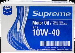 Aceite para Motor 10W-40 946 mL Chevron Supreme x 12