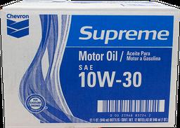 Aceite para Motor 10W-30 946 mL Chevron Supreme x 12