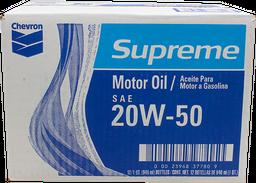 Aceite para Motor 20W-50 946 mL Chevron Supreme x 12