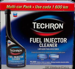 Limpiador Para Inyectores 6/472 mL Chevron Techron