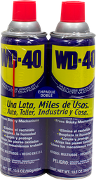 Aceite Multiusos WD-40 382 g x 2