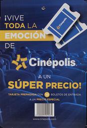 Certificado De Regalo Tarjeta 10 Boletos Cinepolis Tradicional