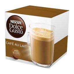 Capsulas Sabor Cafe Au Lait 64 Tazas Nescaf  Dolce Gusto