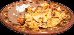 Huevos Revueltos con Longaniza