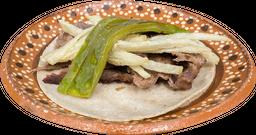 Tacos de Costilla de Res sin Hueso