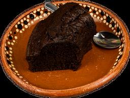 Rebanada de Panque de Chocolate
