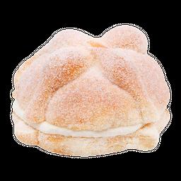 Pan de Muerto Relleno de Nata 120 g