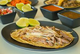 Tacos de Bistec Encebollado