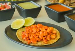 Tacos de Pastor de Pollo