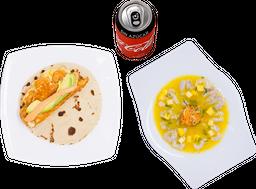 Envío Gratis: Taco Quesito + Mangochile + Coca-Cola sin Azúcar