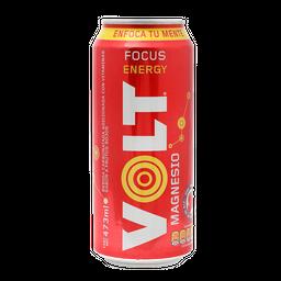 Bebida Energética Volt Red Focus Energy 473 Ml