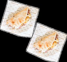 Precio Especial  2 Taco Shawarma con Queso Oaxaca