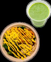 Buddah Bowl + Verde que te quiero verde