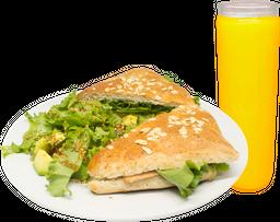 Sándwich o Wrapp  + Agua del Día