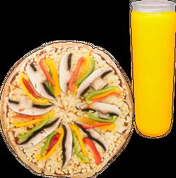 Pizza + Agua del Día