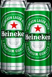 Combo 2 Heineken Laton 473Ml