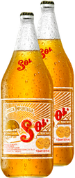 Cerveza Clara Sol 1.2 L x 2