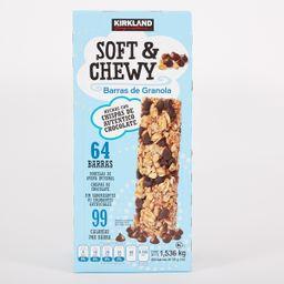 Barras de Cereal Soft & Chewy Con Granola 64 U
