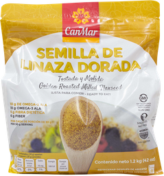 Semilla Canmar de Linaza Dorada 1.2 Kg