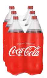 Refresco Pet Coca Cola 25 L x 8