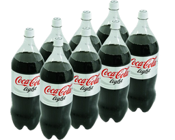 Refresco Light Coca-Cola Light 2 L X 8