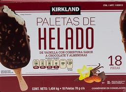 Paleta de Helado Kirkland Signature 18 U