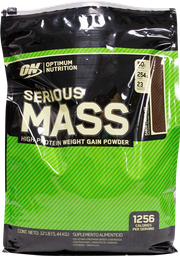 Proteína Optimum Nutrition Serious Mass 5.44 Kg