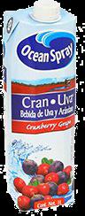 Jugo De Arandano Cranberry Y Uva Brick 1 L