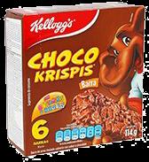 Barras Choco Krispis 114 g