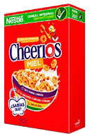 Cereal Cheerios Miel 480 g
