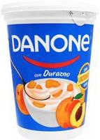 Yogurt Danone Durazno Con Fruta 900 g