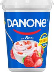 Yogurt Danone Fresa Con Fruta 900 g