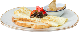 Omelette de Hongos