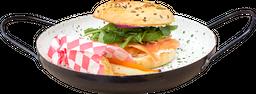 Sándwich King Bagel