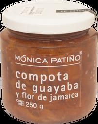 Compota de Guayaba y Flor de Jamaica