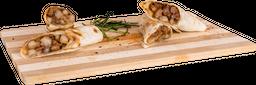 Tacos de Sirloin al Carbón con Salsa de Ajonjolí
