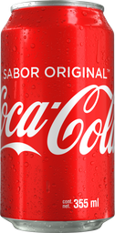 Coca Cola Lata de 330 ml.