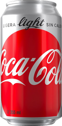 Coca Light Lata de 330 ml.