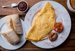 Omelette de Jamón de Pavo