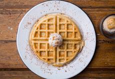 Waffle Afogato